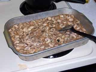 Add mushrooms & cook it!