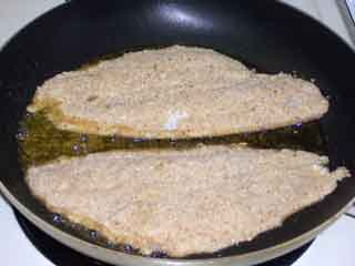 Sole in skillet